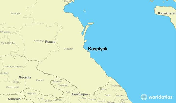 Caspian Sea: 200 Russian Marines are improving their skills in embarking hardware on landing ships in Kaspyisk, Dagestan today.