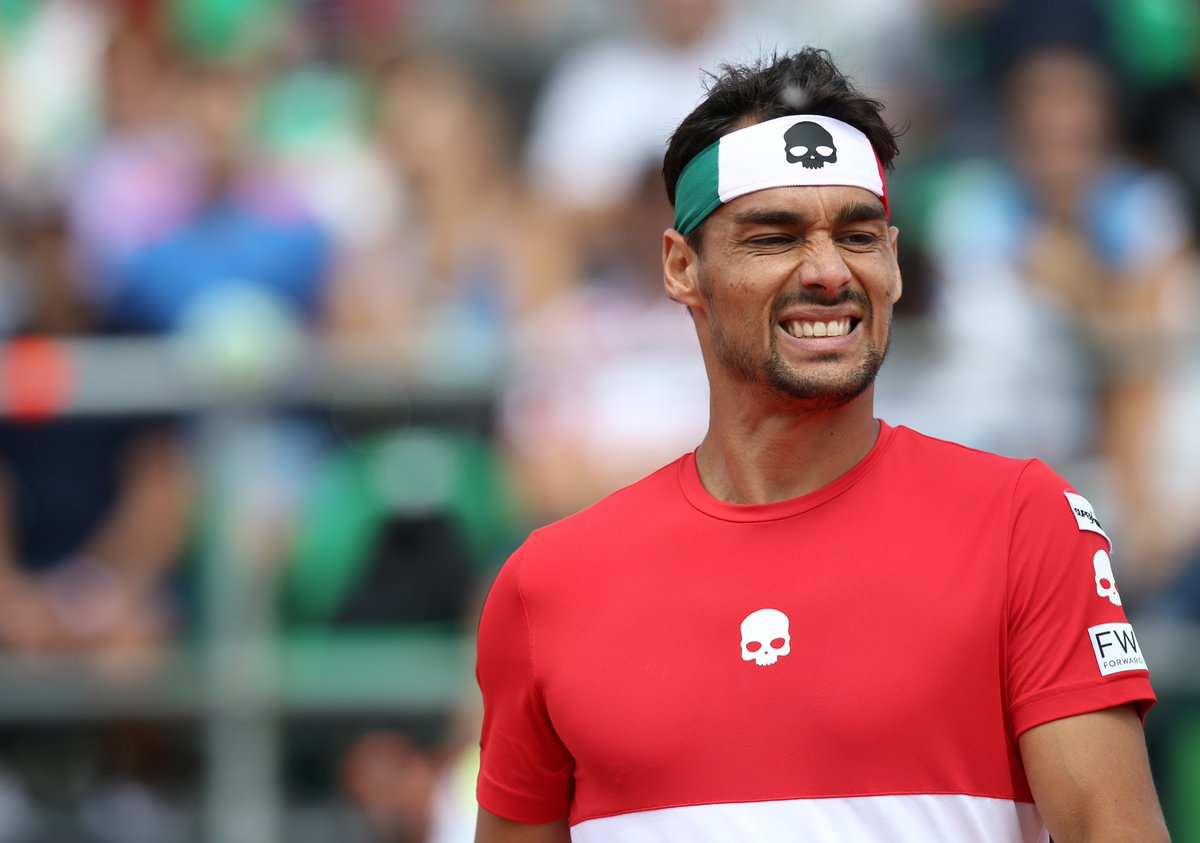 Fognini - ARG-ITA - Getty