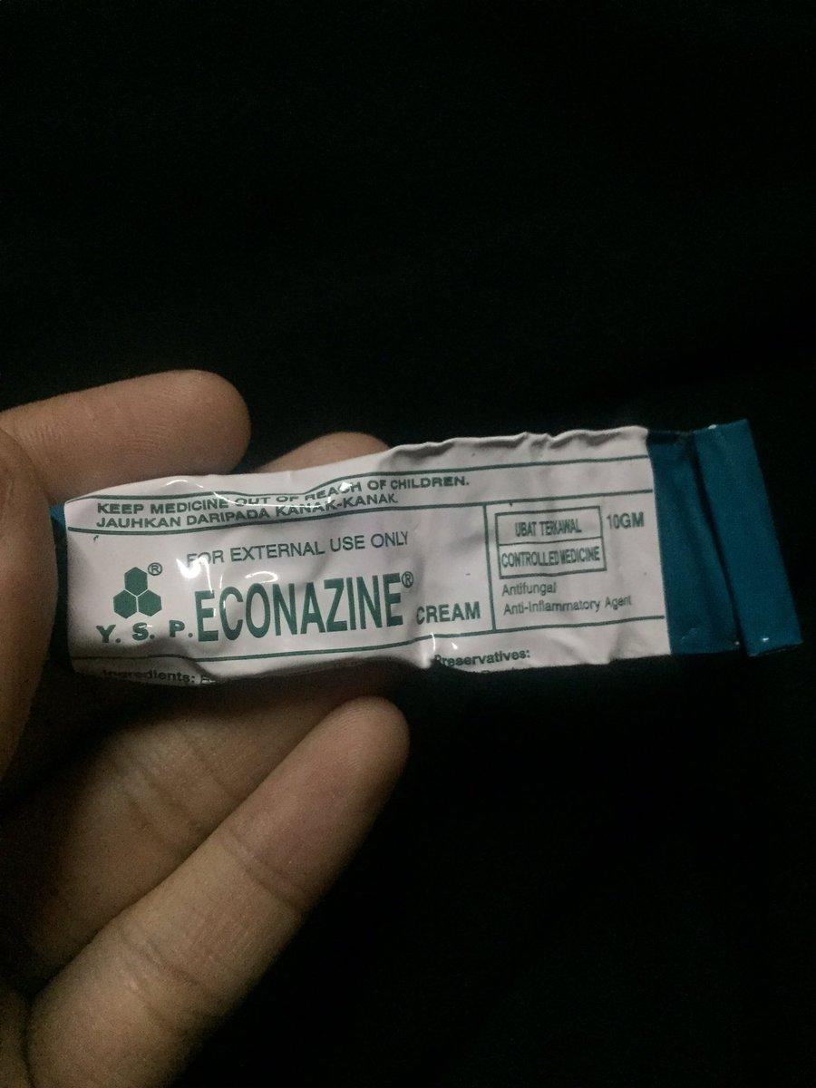 Econazine Cream Untuk Jerawat