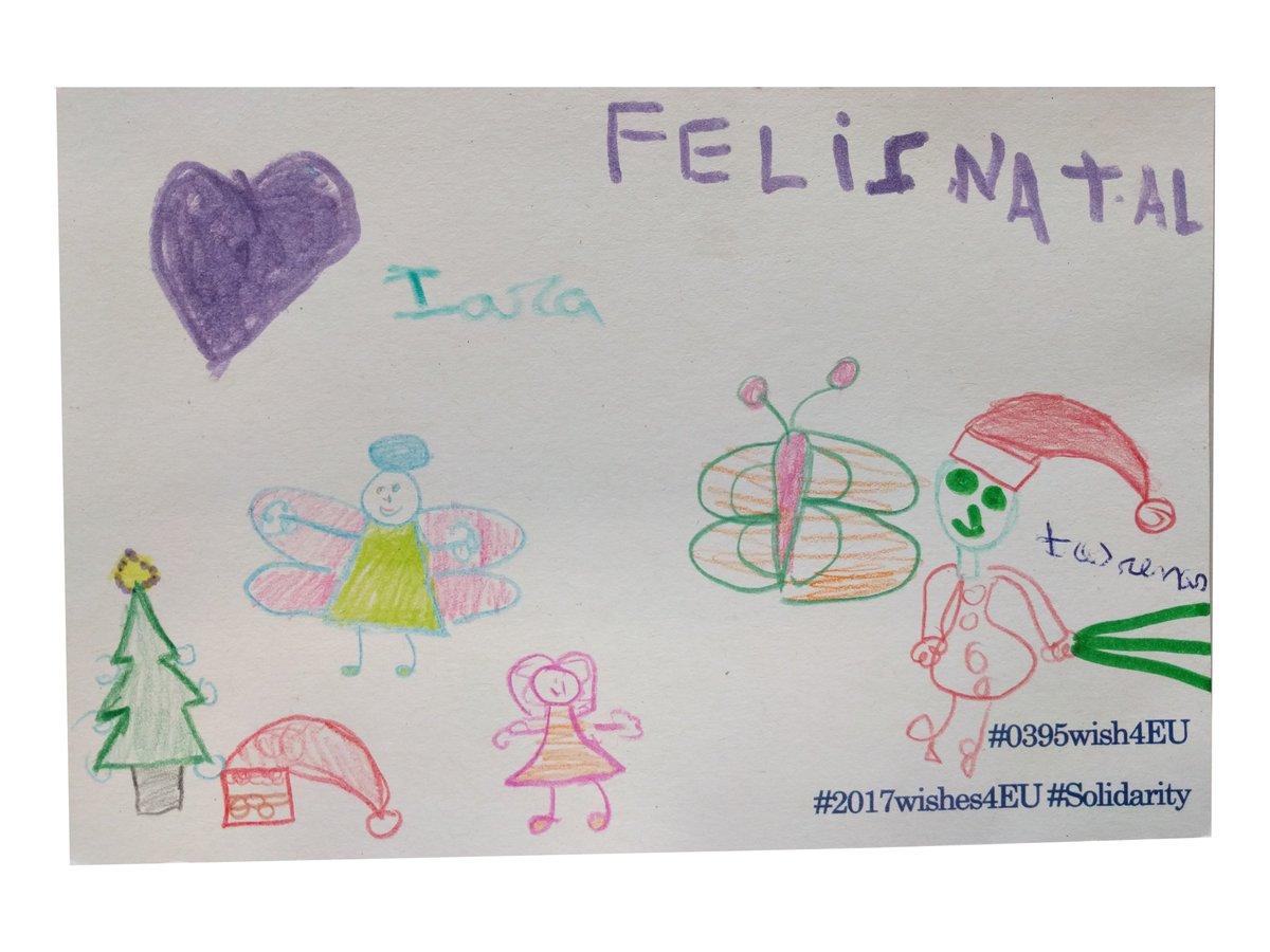 Post ontvangen uit Portugal. Thanks for the New Year wishes, Lara! #FelizNatal #2017wishes4EU #0395wish4EU #Solidarity<br>http://pic.twitter.com/crpsyTSV8r