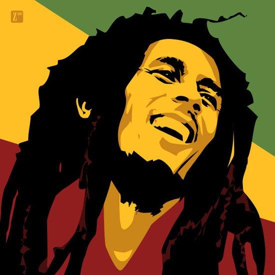 Happy Birthday to the King of Reggae - Bob Marley 1945-1981