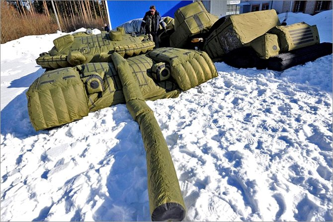 Минобороны России увеличивает закупку надувных танков