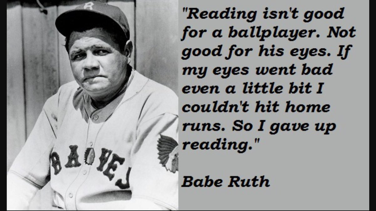 Babe Ruth Quotes Baseball Movies on Twitter:
