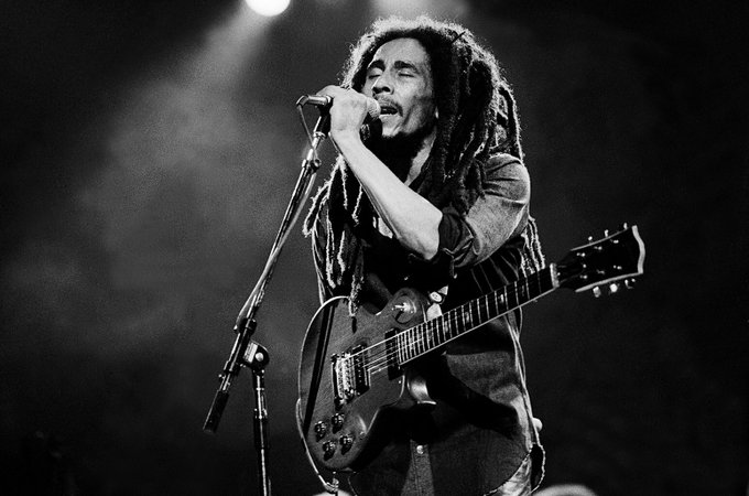 Happy birthday to Bob Marley! He would have been 72 today.
