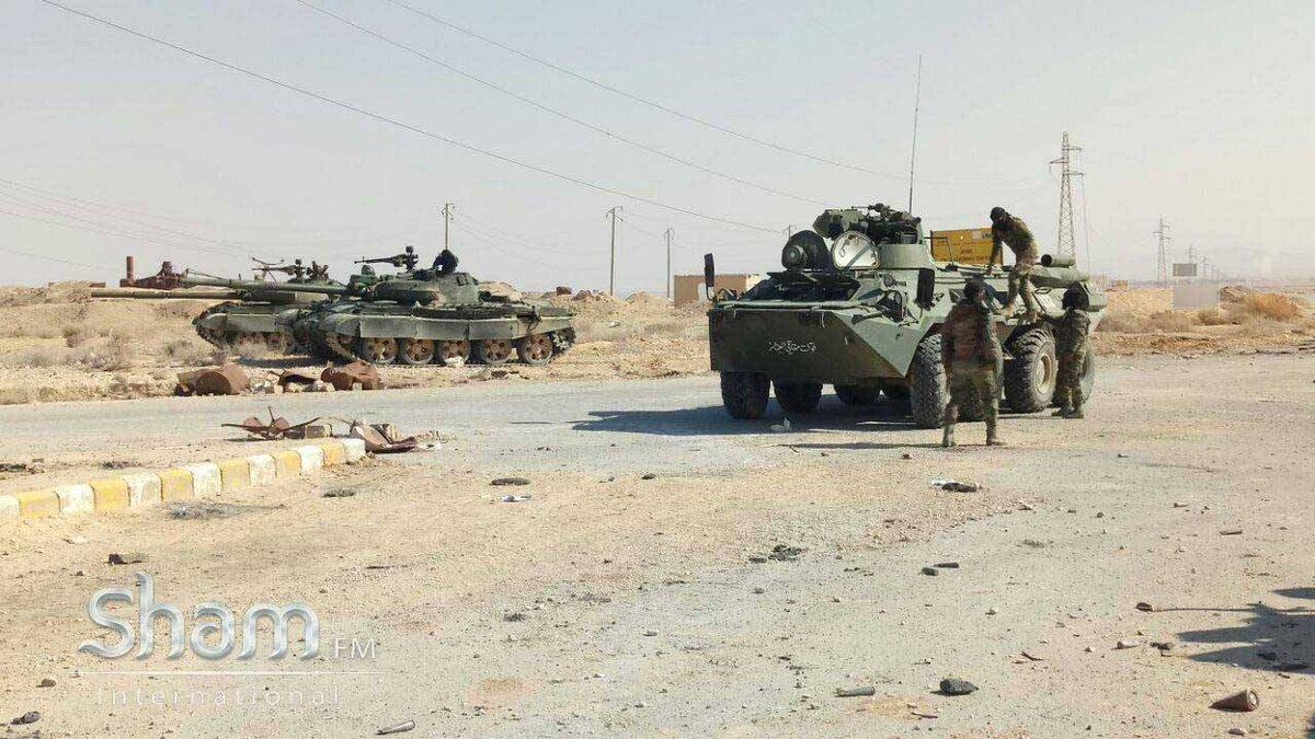 مدرعات BTR-82A الروسيه ودورها في الحرب الاهليه السوريه  C3_kqnHWIAUNXVZ