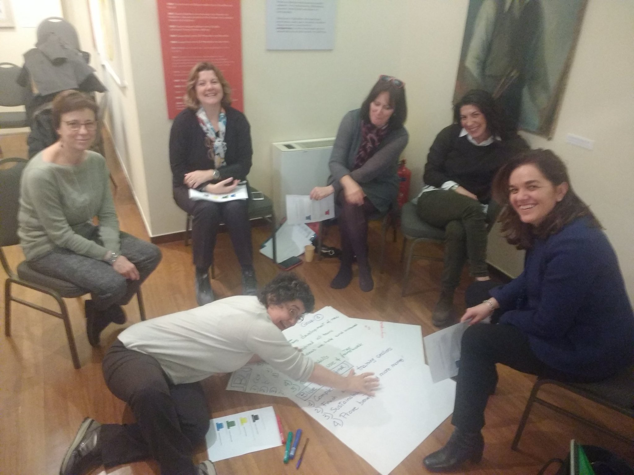 """""""Thinking about the TAE"""": exchanging ideas and working collaboratively @UoBAutism #TAEAthens #TAE @LaskaridisFound https://t.co/Pz4SHASzta"""