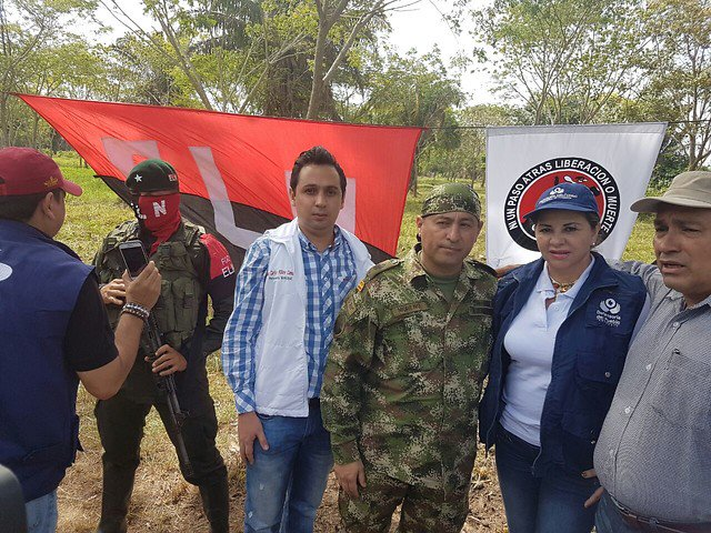 ELN freed soldier Fredy Moreno Mahecha in Arauca