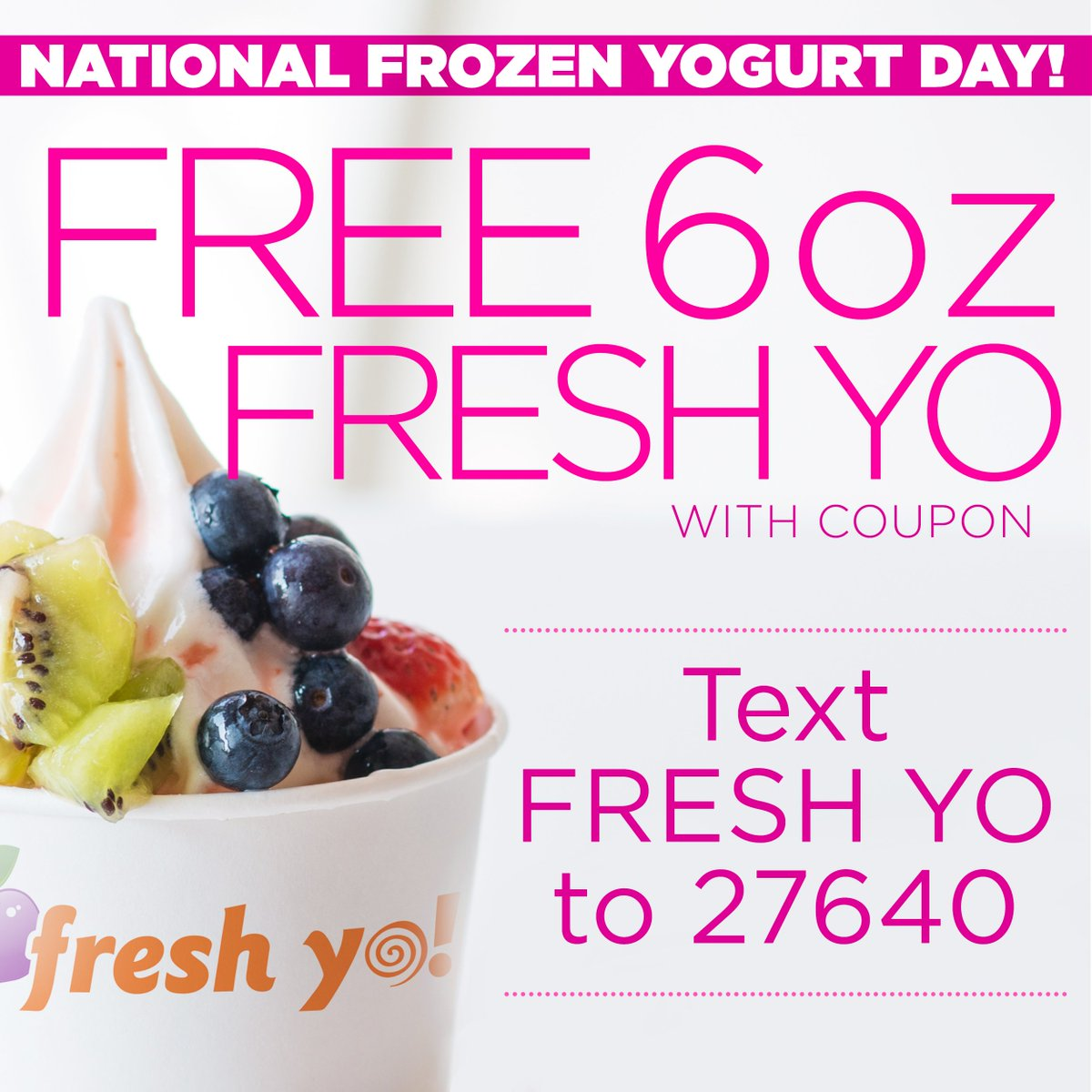 Nationalfrozenyogurt on feedyeti happy nationalfrozenyogurt day find your nearest cefco with fresh yo at http publicscrutiny Image collections