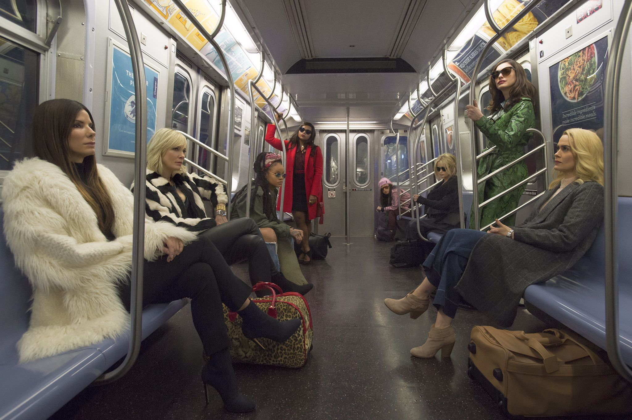 First look At Ocean's Eight All-Female Cast Revealed