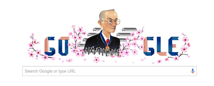 The Google doodle today celebrates the birthday of Fred Korematsu, the namesake of the 1944 SCOTUS case challenging Japanese internment.