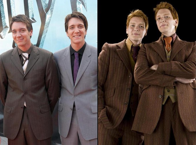 Happy 31st Bday and You\re the perfect Weasleytwins!