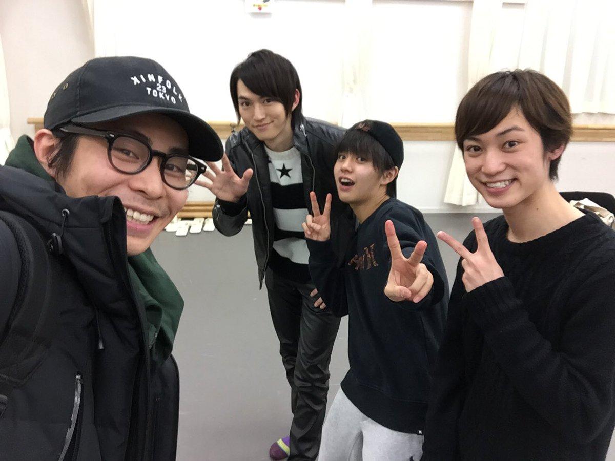 ペダル稽古に合流しました!  稽古後には、百瀬くんのラジオに和田くんと醍醐くんと3人でお邪魔しました…