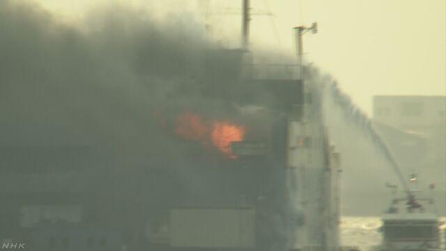 【作業船で火災1人けが 岡山 笠岡】 火事が起きたのは、埋め立て用の土砂を海に投入するための船で、乗…
