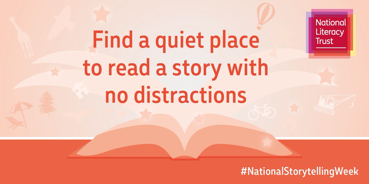 This #NationalStorytellingWeek, turn off phones and the TV for a distraction-free story time! https://t.co/B0iV5TBMXT