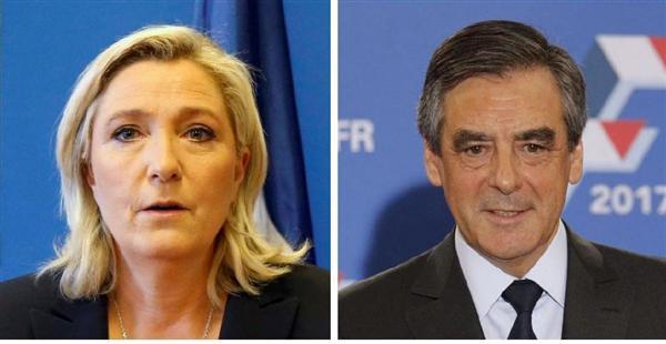 フランス大統領選、極右・国民戦線のルペン党首が支持率首位 sankei.com/world/news…