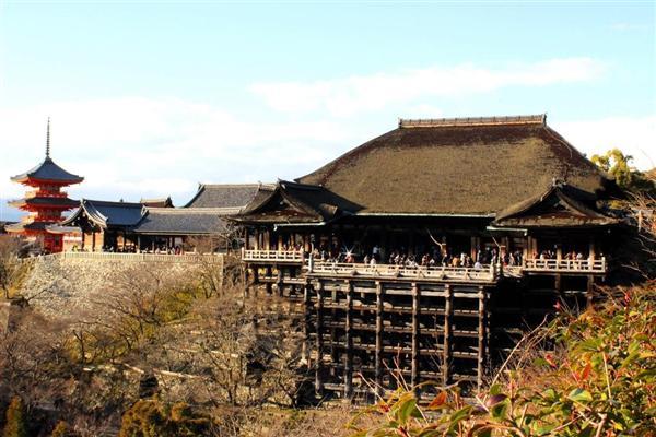 近いうちに京都観光ご予定の皆様、ご注意を…「清水の舞台」の景色が変わる?清水寺屋根葺き替え、2月6日…