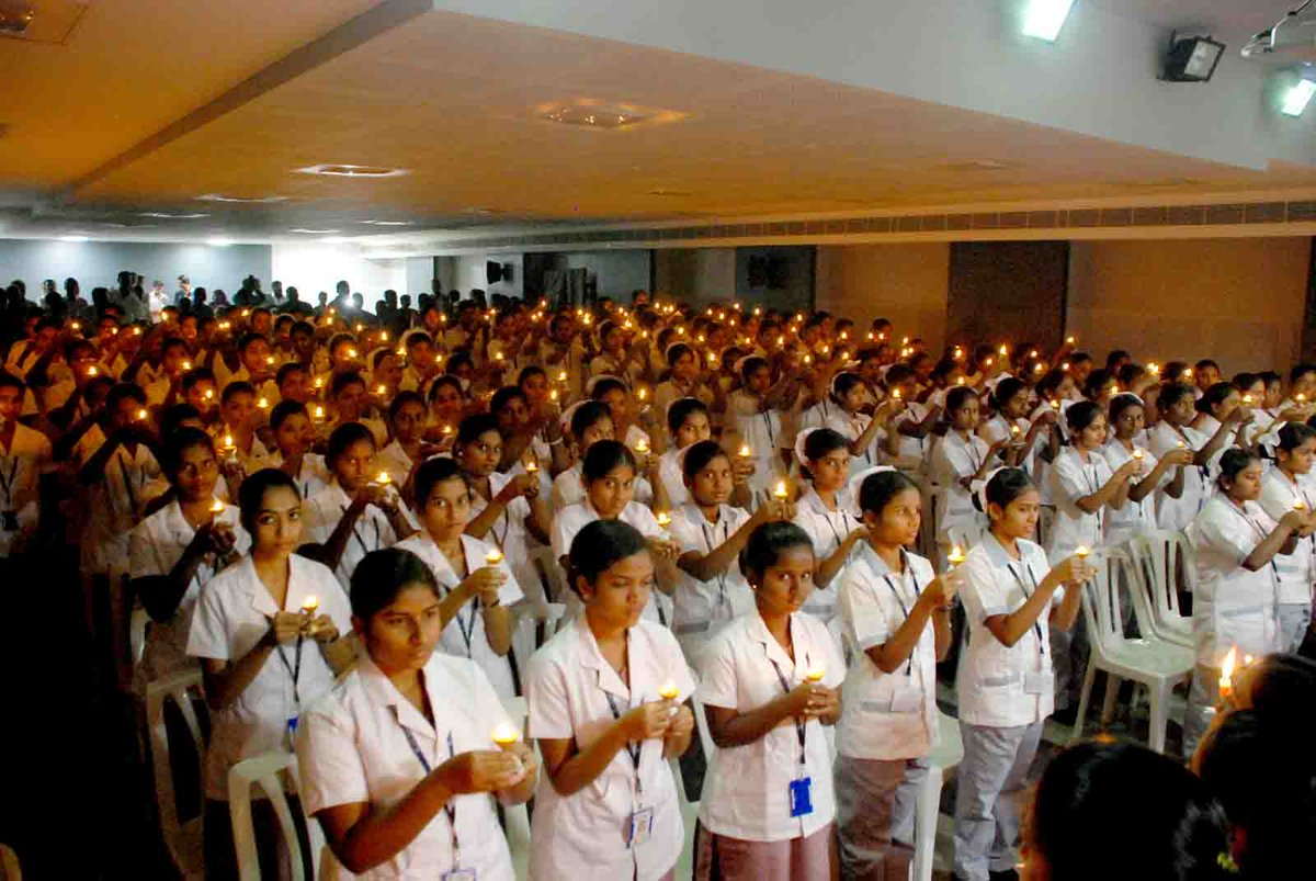 """KG Hospital on Twitter: """"The Lamp Lighting Ceremony of the fresh ... for Lamp Lighting Ceremony  35fsj"""