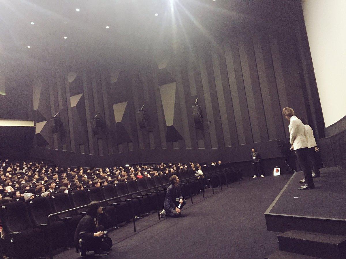 新宿ピカデリー上映会&トークショー終了!!  ご来場いただいた皆さまありがとうございました! 笑いあ…