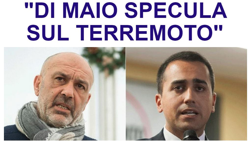 Il sindaco di Amatrice Pirozzi attacca #DiMaio https://t.co/kg3yYHIif9