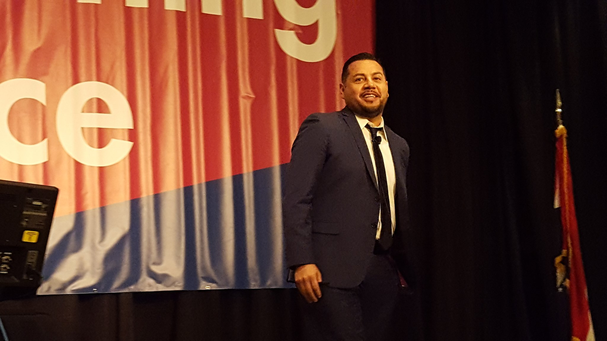 "Excited to hear from engaging educator @lcruzconsulting at #moplc17! ""TODAY IS A GOOD DAY!"" @EducPlus @StLouisRPDC @moplc https://t.co/RrUjbprp49"