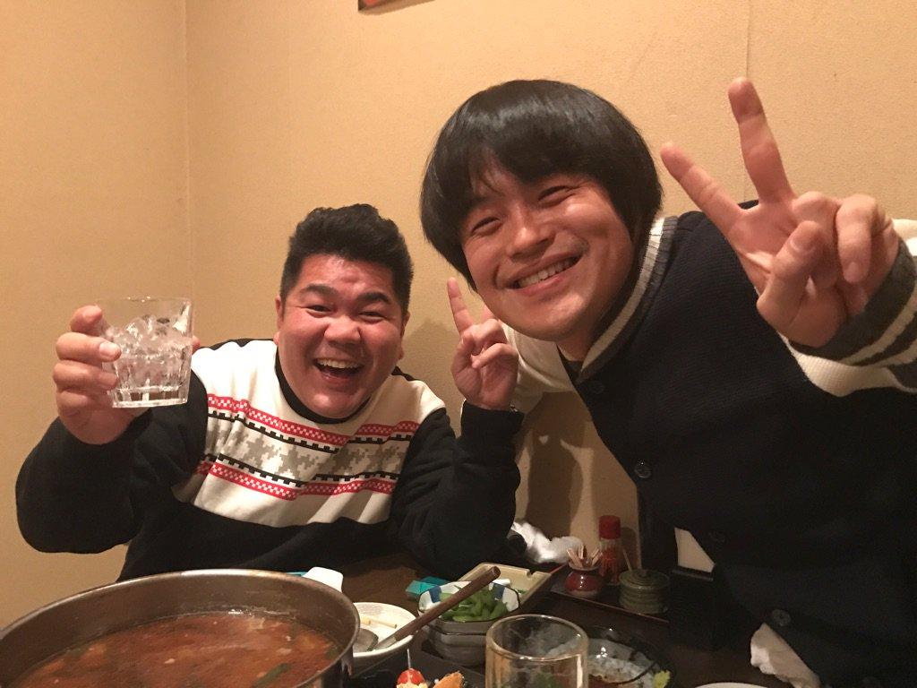 若手時代の戦友、ごりけんさんと再会。 福岡でスターになっていた。