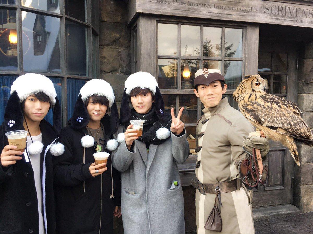 東京帰って来ました。 あんステの一部のメンバーでユニバ! 大阪満喫して来ました! 最後みんなと別れる…