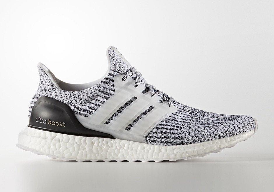 Black/Grey Uncaged Ultra Boosts