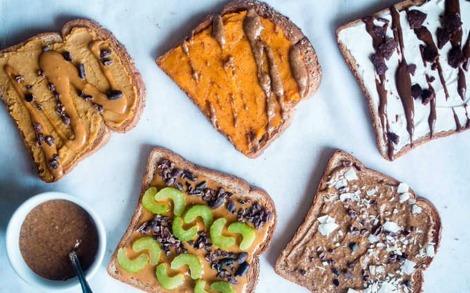 Dessert For Breakfast Toast Five Ways [Vegan, Gluten-Free]