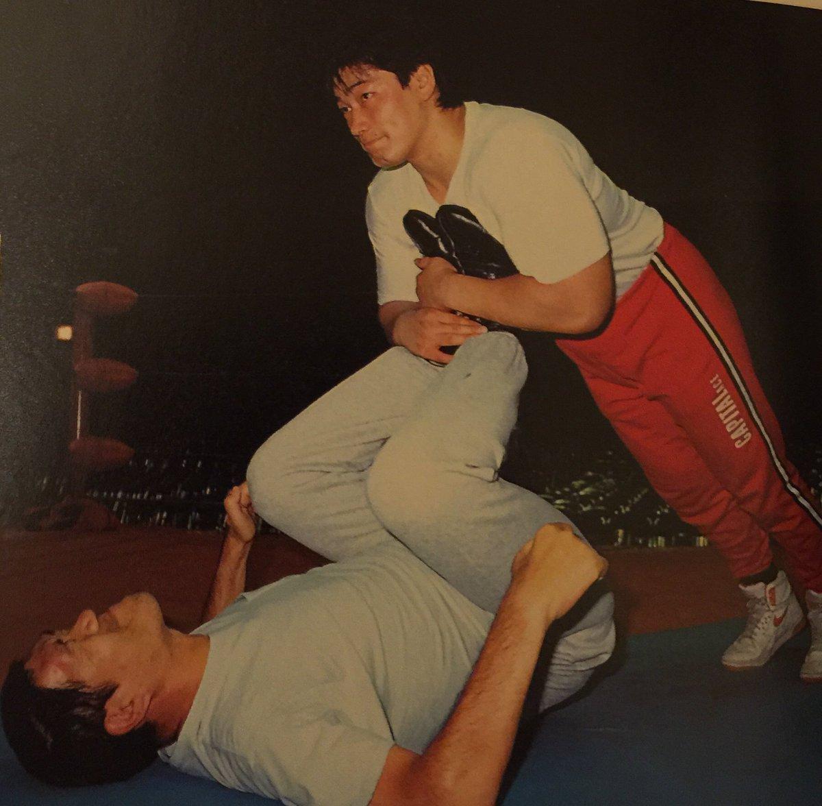 1月31日 今日はジャイアント馬場さんの命日です。 以前、日本武道館大会・試合前 馬場さんがリング上…
