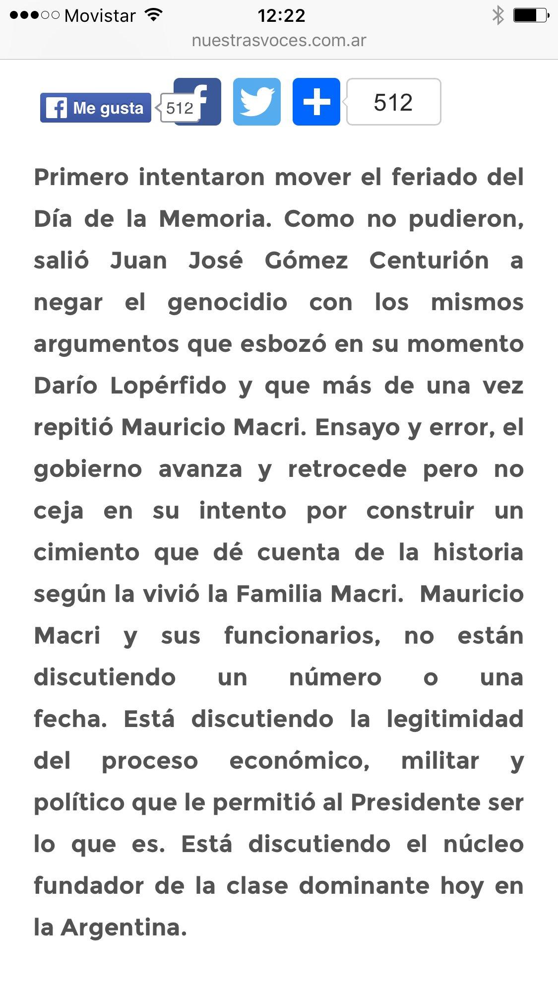 Thumbnail for Cristina Kirchner, sobre Gómez Centurión