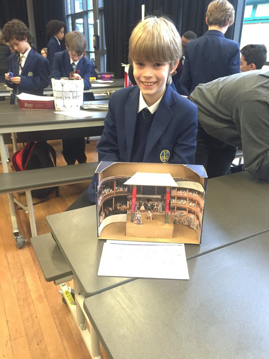 Christs School On Twitter 2 3 Awesome 3D Models Of Shakespeares Globe Theatre From Y7 English Pupils Showing Off And Rightly So To Parents Staff