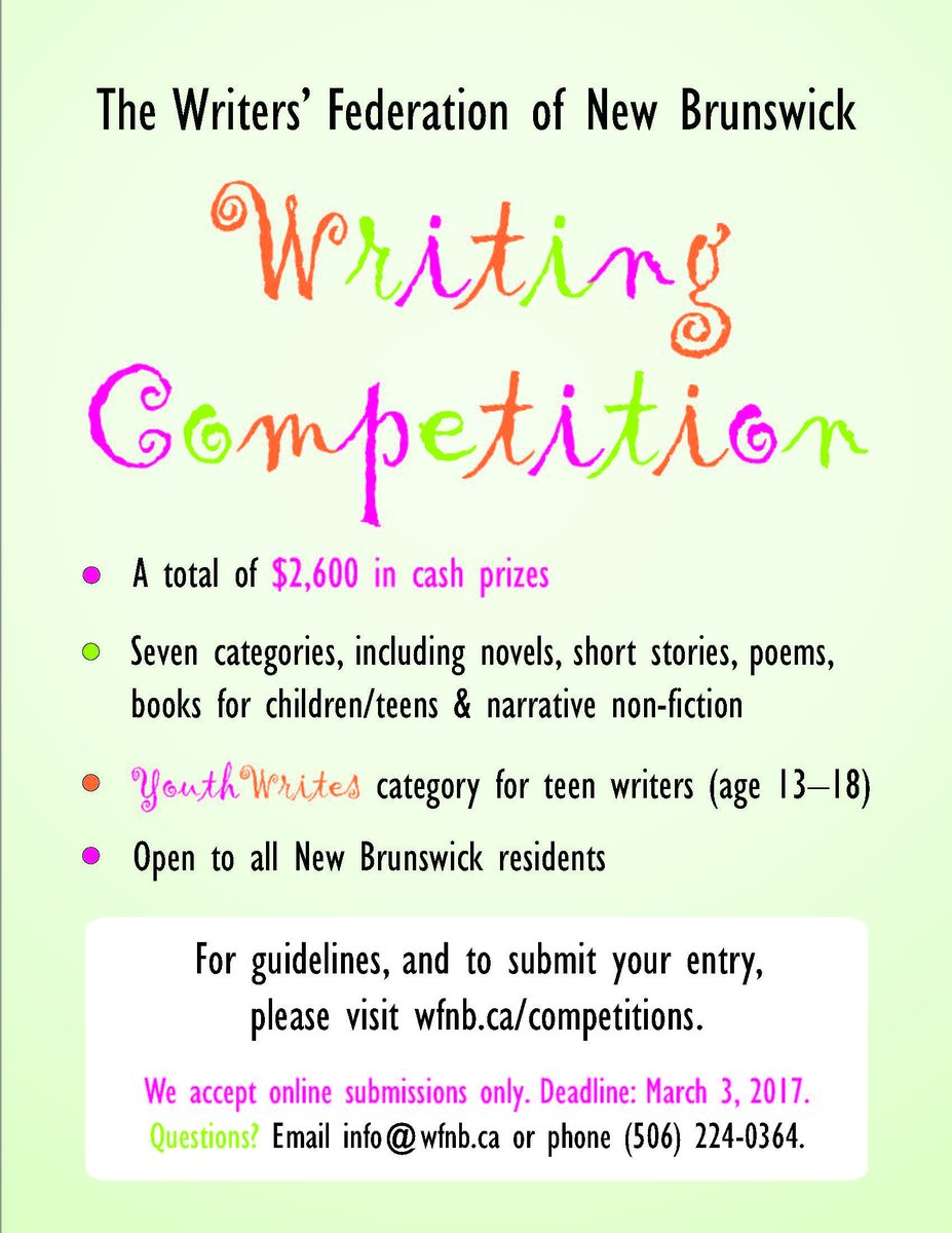 Annual Writing Competition The Balance