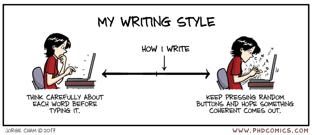 Writing phd thesis