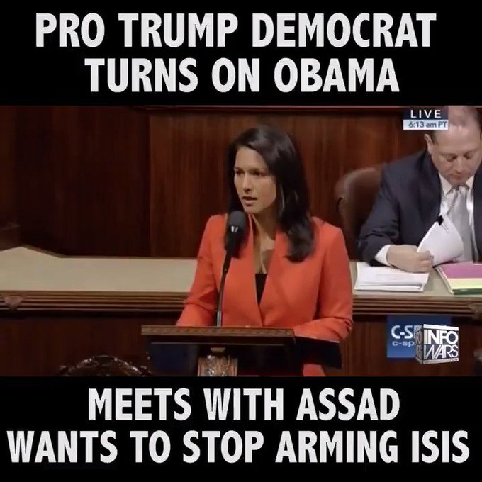 The policy of arming and funding terror groups needs to stop! This Democrat gets it...
