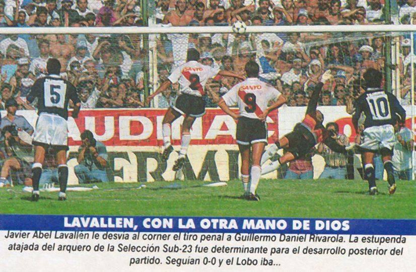 Resultado de imagen para javier lavallen penal 1994