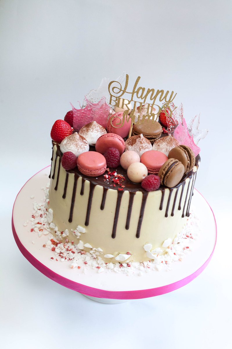 """The Little Cake Box on Twitter: """"#Chocolate drip cake with macaroons, meringues and sugar shards. #dripcake #meringue #macaroons #cake #canterbury ...1364 x 2048 jpeg 236kB"""