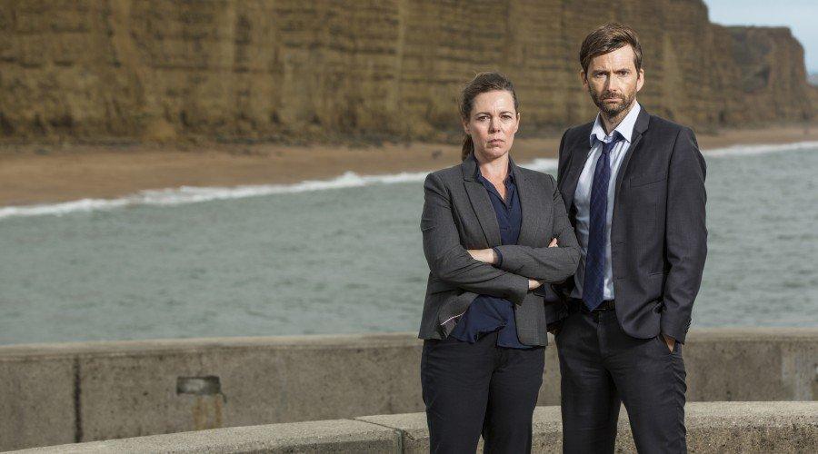 David Tennant and Olivia Colman from Broadchurch Series Three