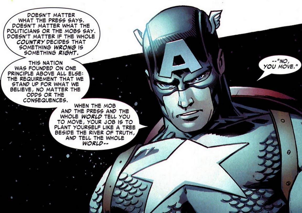 キャプテン・アメリカはこういうこととずっと戦ってきたんだよなぁ、と今さら身に染みる