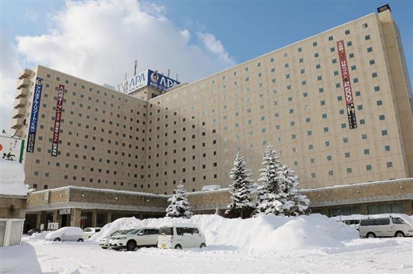 札幌など開かれる冬季アジア大会に参加する中国選手団、宿泊ホテルをアパから変更へ sankei.com…