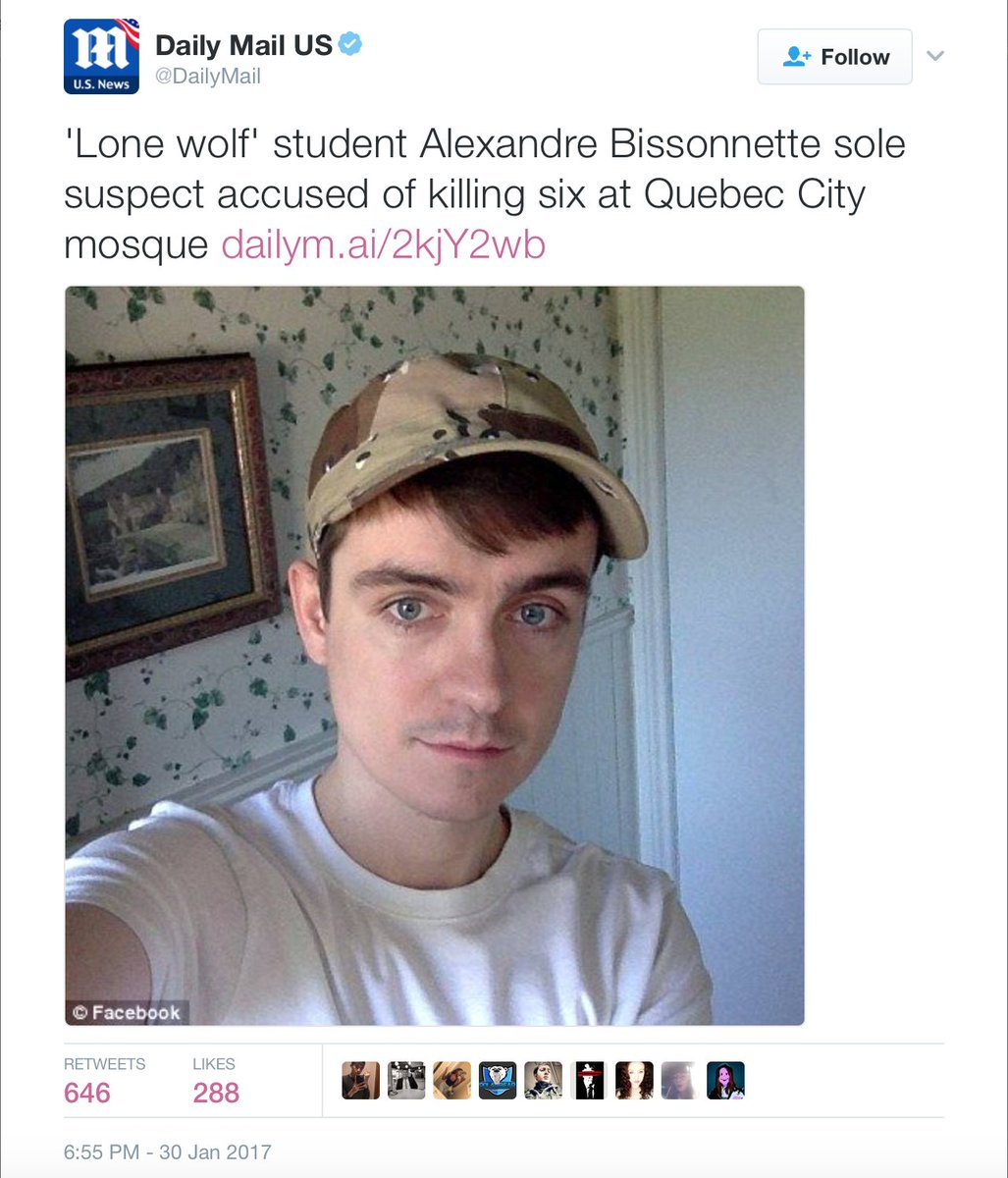 He. Is. A. Terrorist. Not. A. Lone. Wolf.