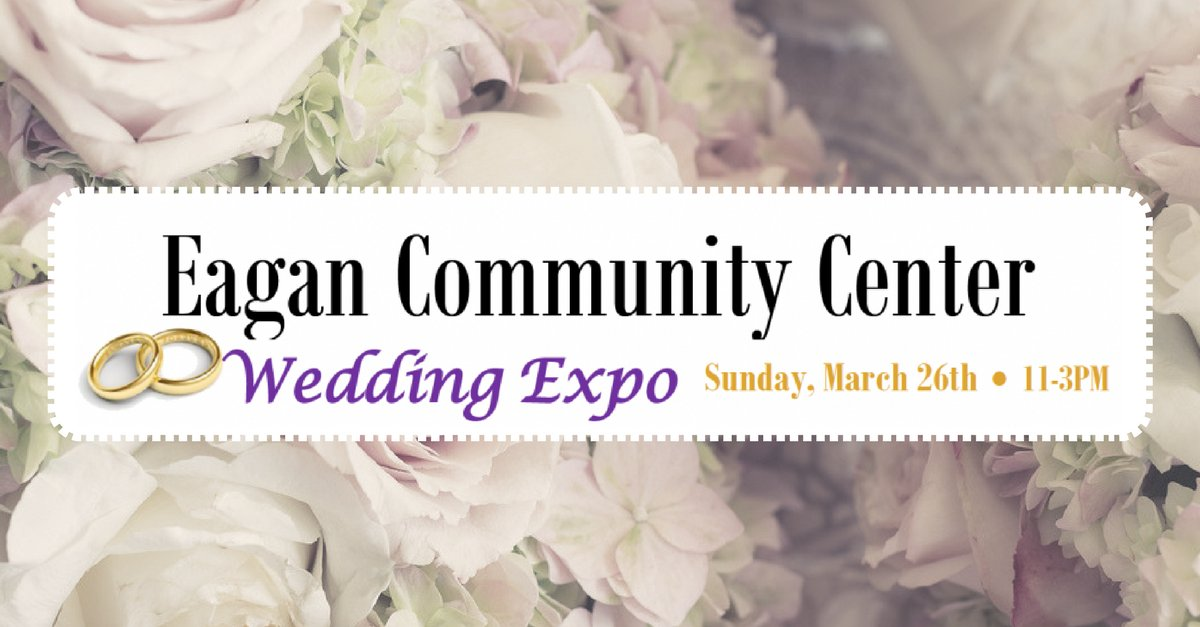 City Of Eagan On Twitter Be A Vendor At Our Popular Wedding Expo