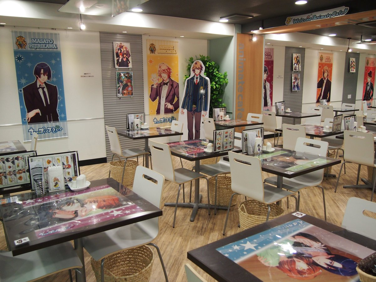 【アニメイトカフェ池袋の今までのコラボを振り返る】2012/1/31~「うたの☆プリンスさまっ♪ 」…