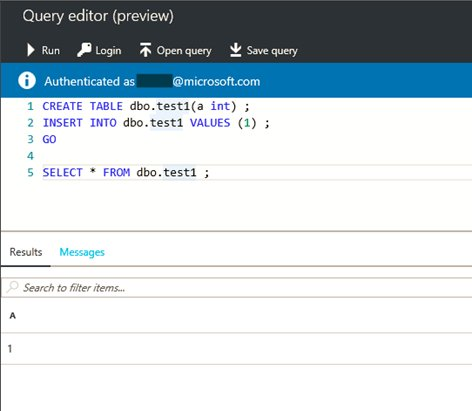 Azure SQL Database on Twitter:
