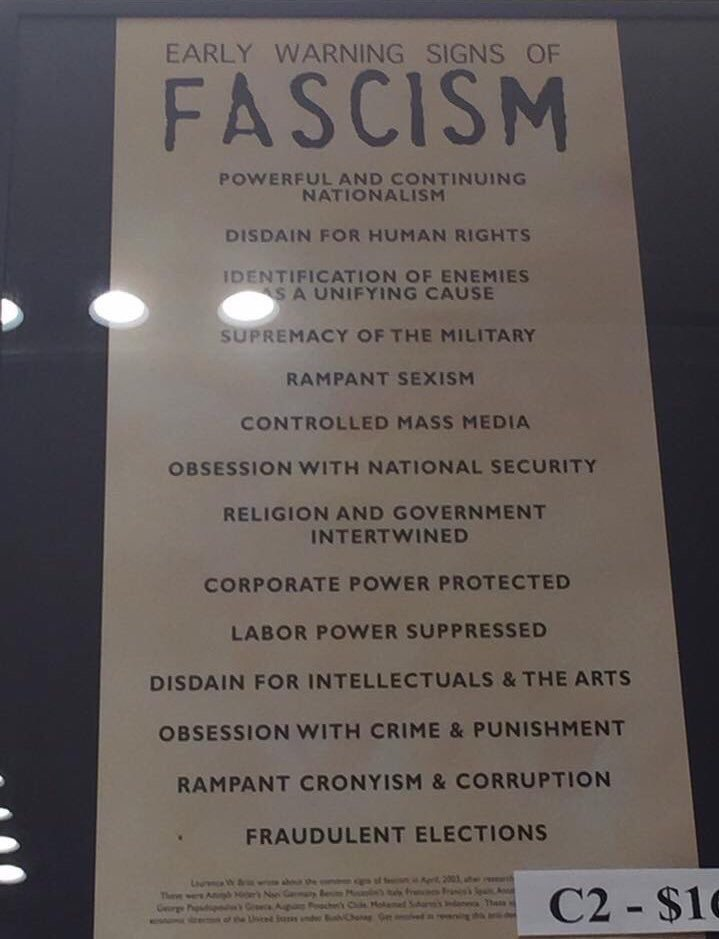 Terrifying - In US Holocaust Museum https://t.co/WaUUD2mT8P