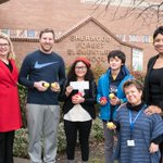 Congratulations Sherwood Forest & Thank You @US_Apples for supporting the #SherwoodForestApples program! #Apples4Ed #FWPSGoal2