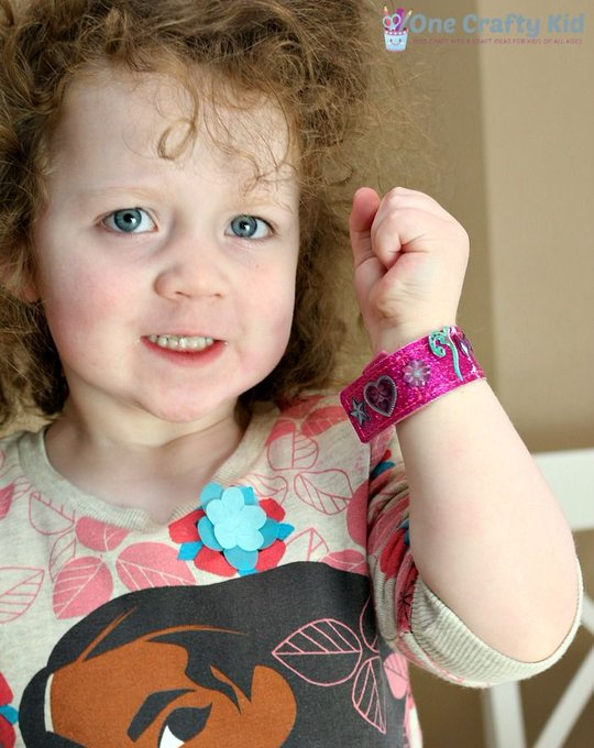 Bracelet Making Kit for Kids Added Glam To Our Weekend