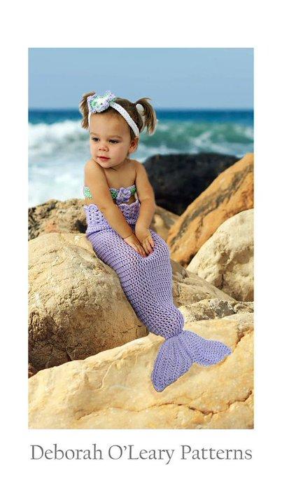 Crochet Baby Mermaid Tail Pattern