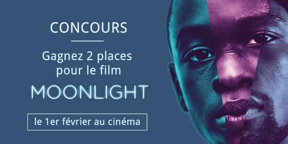 RT @Citazine #Concours Tentez de gagner 2 places pour aller voir #Moonlight, drame magistral dès demain au #cinéma 🌕💙 ▶️ https://t.co/nuv5JyJmJN
