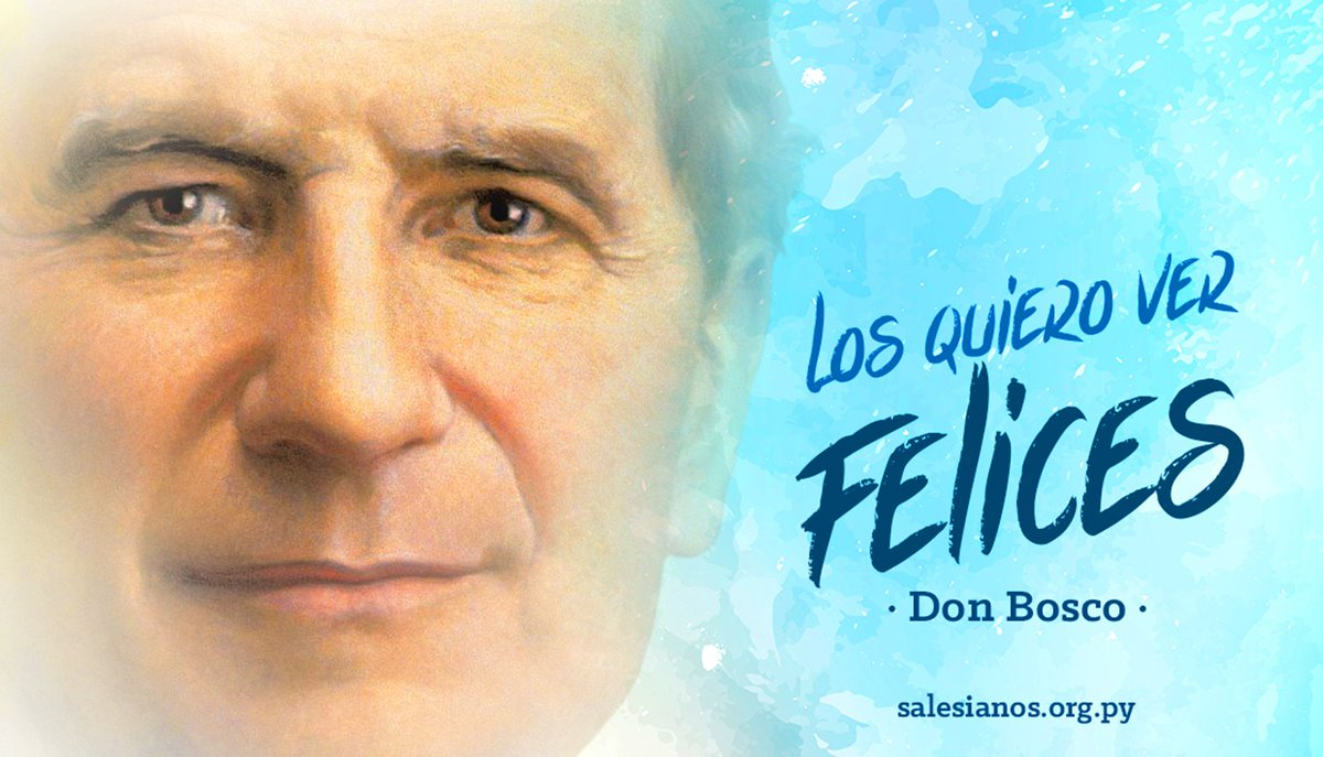 Frases De Don Bosco On Twitter Feliz Día De San Juan