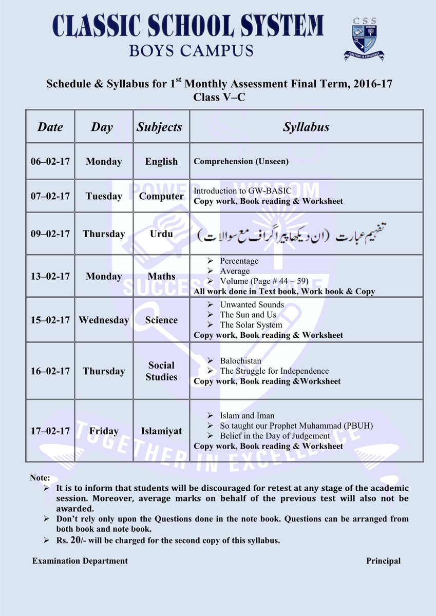 worksheet Css Profile Worksheet css boyscampus on twitter schedule syllabus for 1st monthly assessment final term 2016 17 class v pdf availablehttpst coc